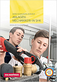 Flyer Anlagenmechaniker/in